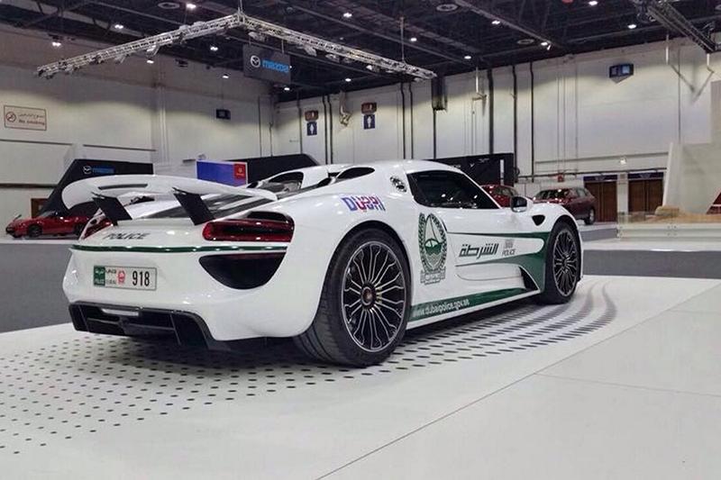 2015 - Dubai Police Porsche 918 Spyder