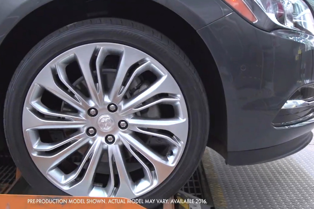 2015 LA - 2017 Buick LaCrosse Teasers