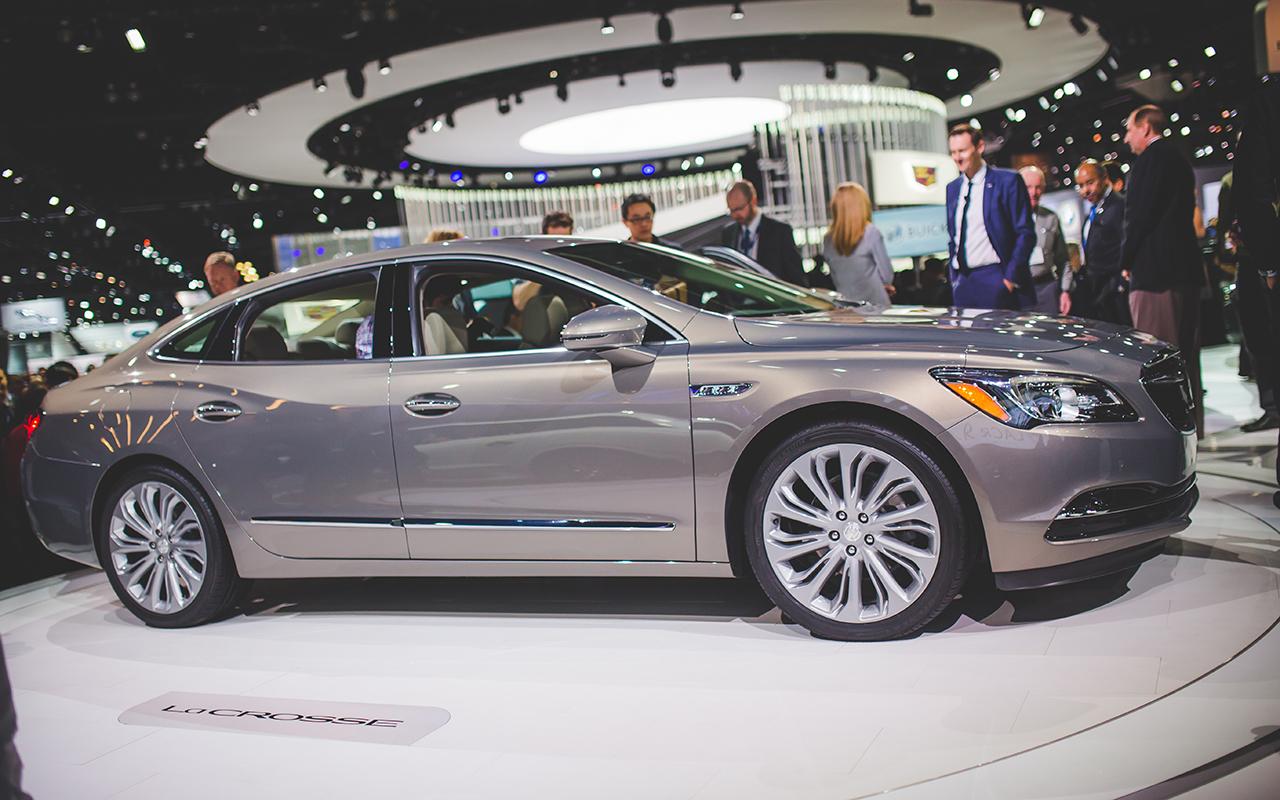2015 LA - 2017 Buick LaCrosse