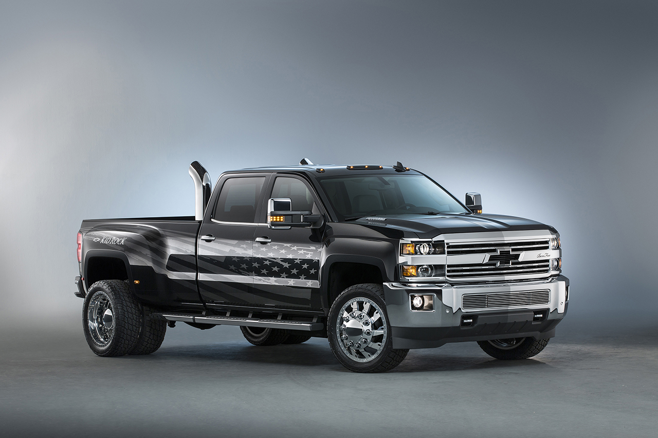 2015 SEMA - Chevrolet Silverado 3500HD Kid Rock Concept