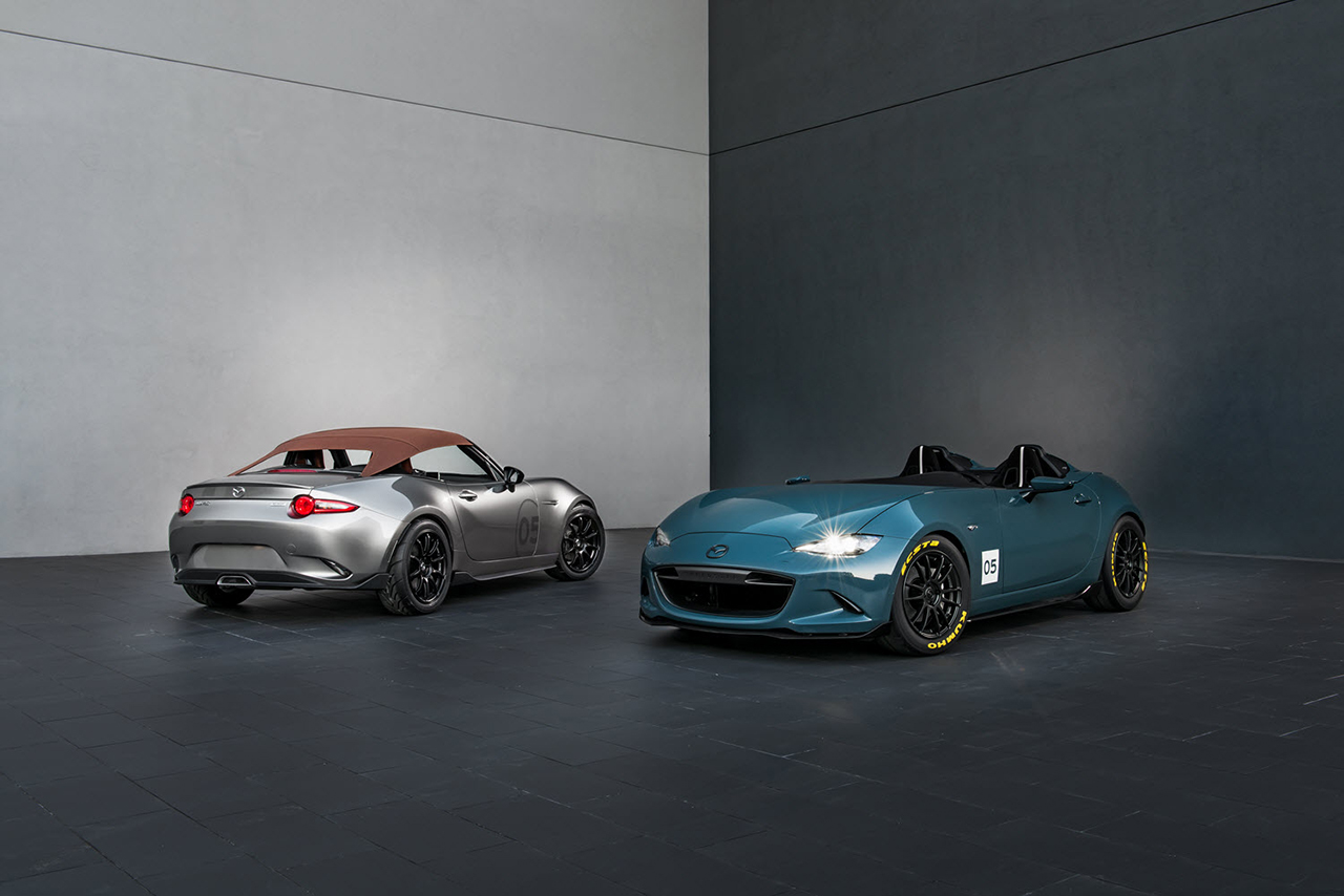2015 SEMA - Mazda MX-5 Miata Spyder and Speedster Concept