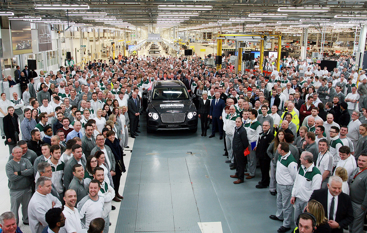 2016 Bentley Bentayga - First Production