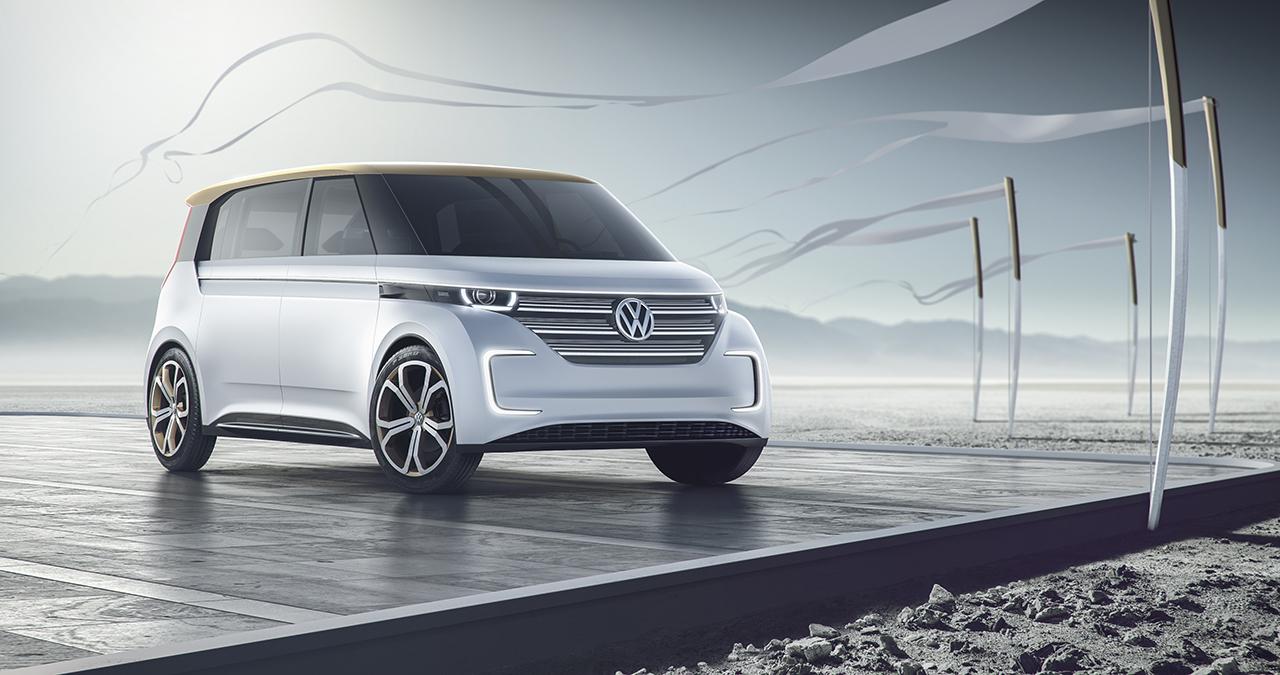 2016 Volkswagen Budd-e Concept