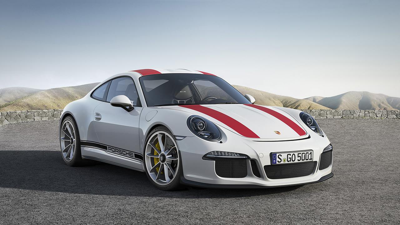 2016 Geneva - 2017 Porsche 911 R