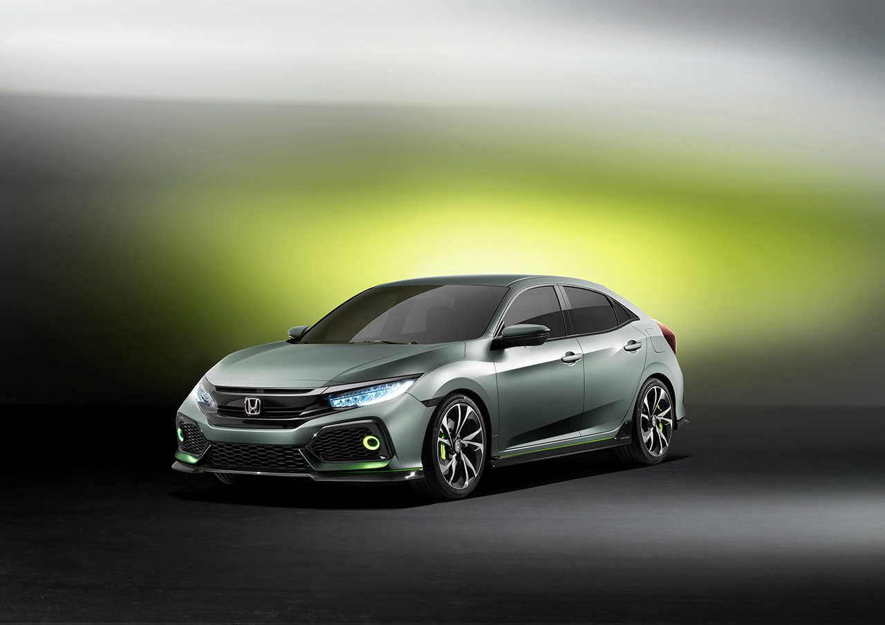 2016 Geneva - Honda Civic Hatchback Prototype