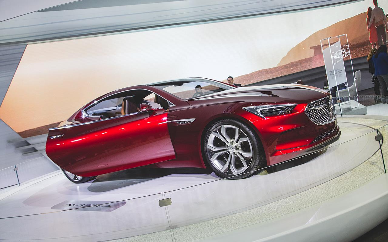 2016 New York - Buick Avista Concept ver. 2.0