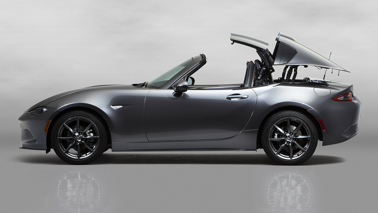 2016 New York Preview - 2017 Mazda Miata MX-5 RF