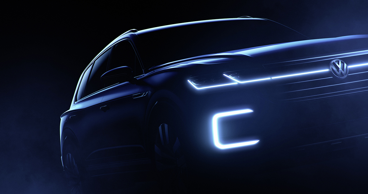 2016 Beijing Preview - Volkswagen High-Tech SUV Concept
