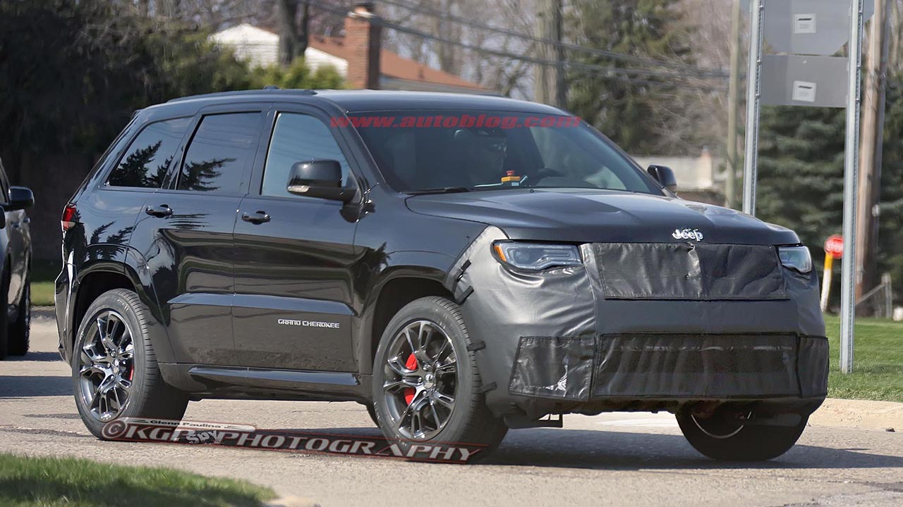 2016 - Jeep Grand Cherokee SRT Trackhawk Spy Shots by KGP Photography