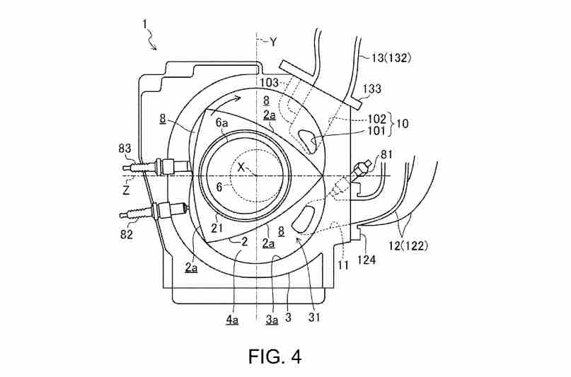 report  mazda files patent for new 400hp rotary engine