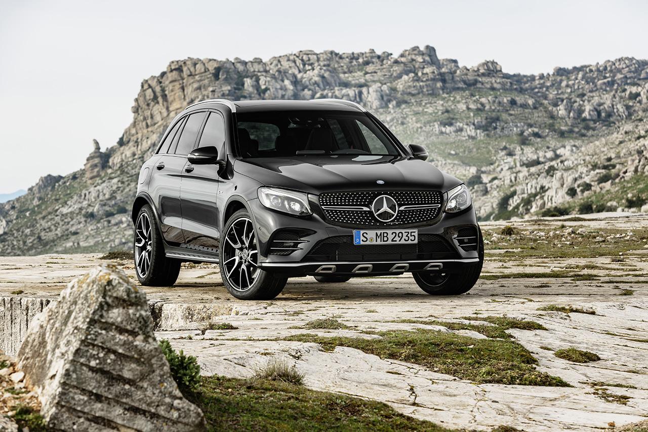 The 2017 Mercedes-AMG GLC43