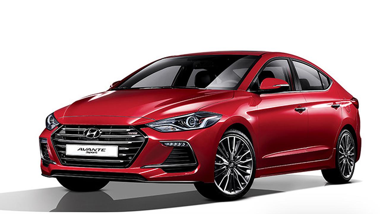 2017 Hyundai Elantra - Avante Sport
