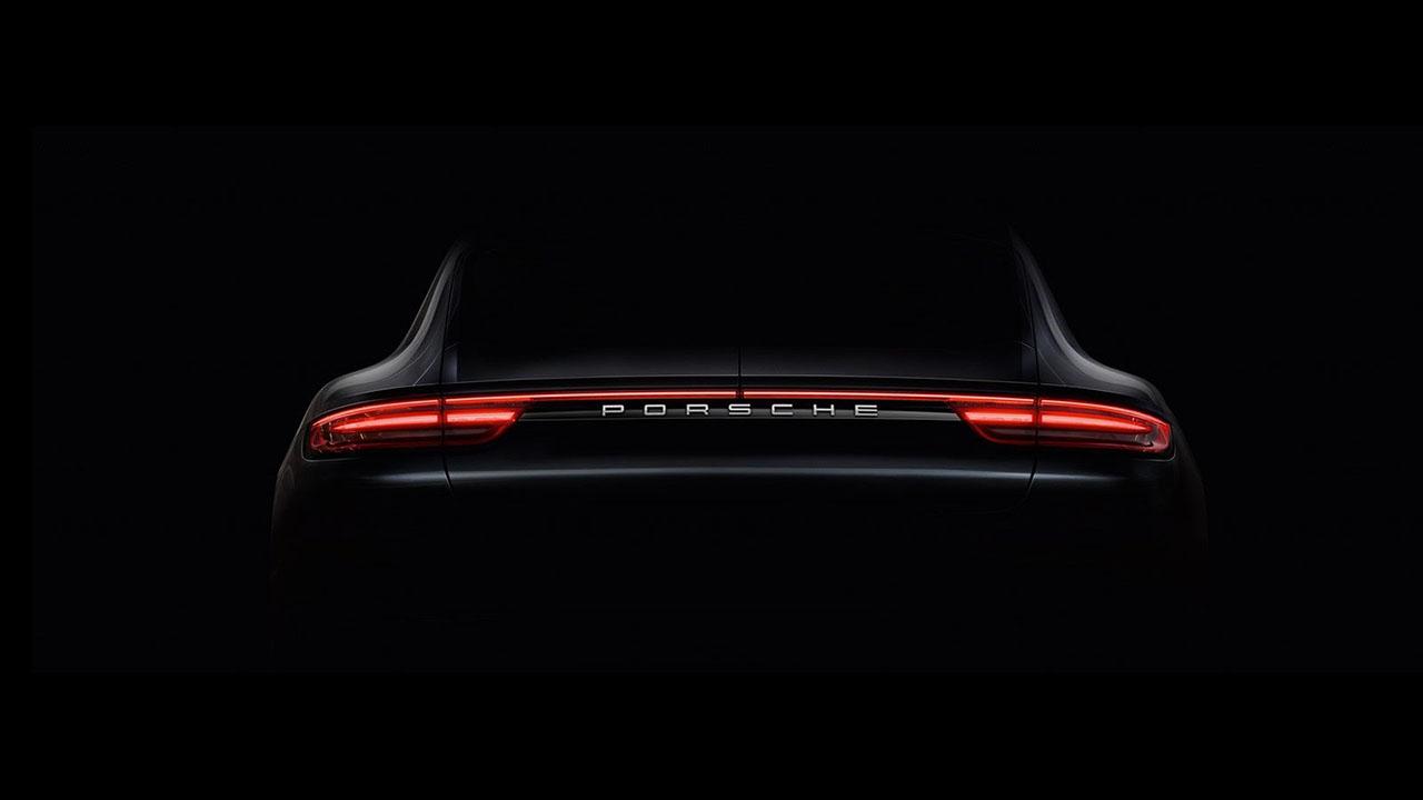 2017 Porsche Panamera Teasers