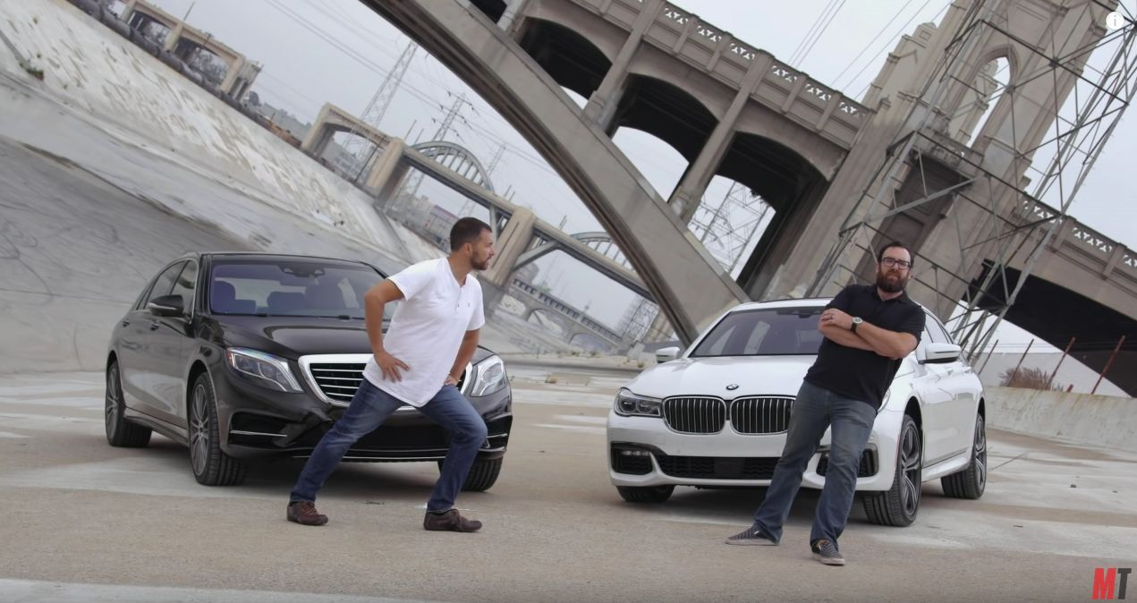 2016 - MotorTrend Head2Head BMW 750i vs Mercedes S550
