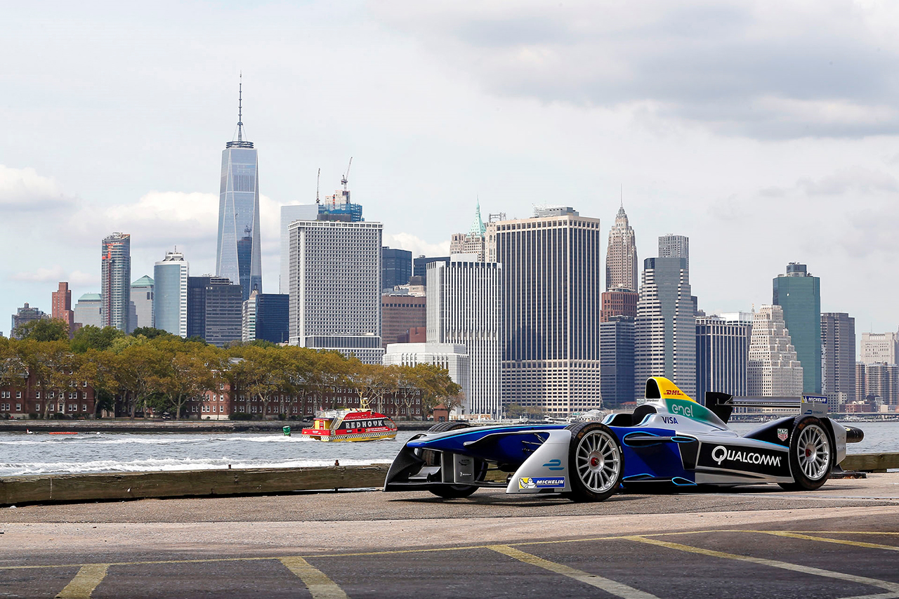 2016 - FIA Formula E Announcement NYC