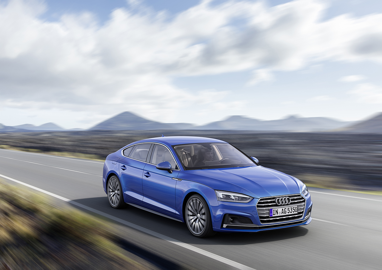 2016 paris preview these are the new audi a5 and s5 sportback egmcartech. Black Bedroom Furniture Sets. Home Design Ideas