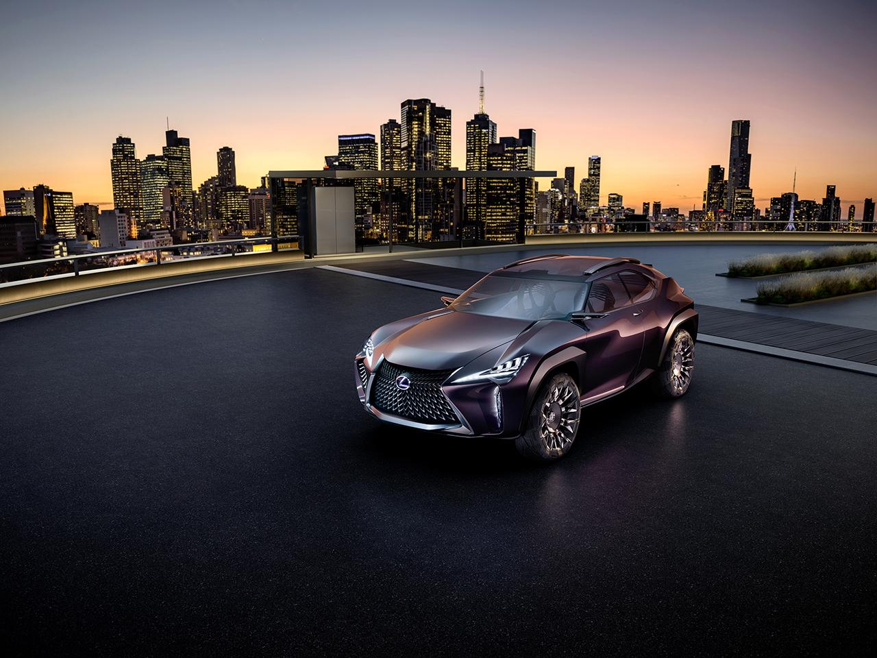 2016 Paris - Lexus UX Concept