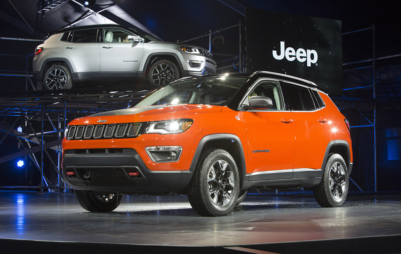 All-New 2017 Jeep® Compass LA Auto Show Debut