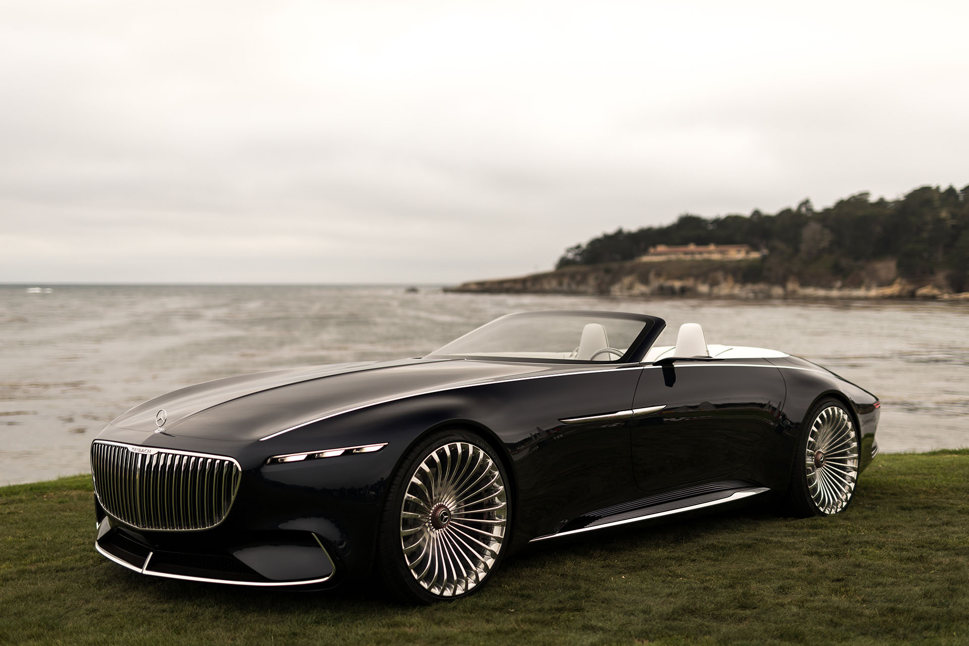 Mercedes Long Beach >> 2017 Monterey: The Vision Mercedes-Maybach 6 Cabriolet previews the future in opulent, open-top ...