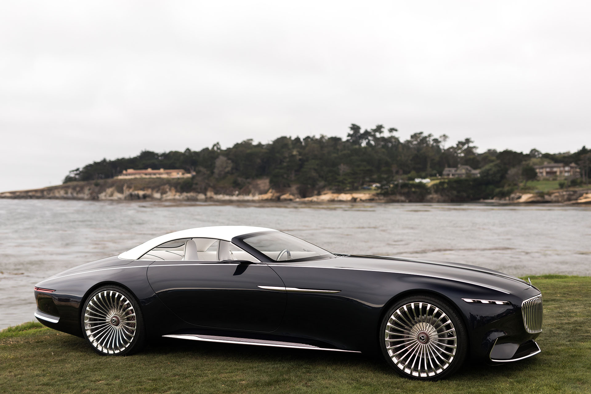 2017 Monterey: The Vision MercedesMaybach 6 Cabriolet previews the future in opulent, opentop