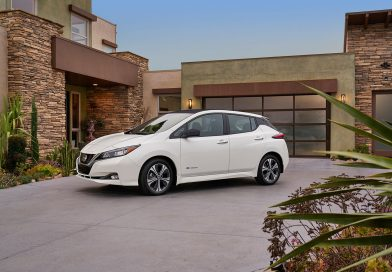 The all-new 2019 Nissan LEAF falls into place with a new design