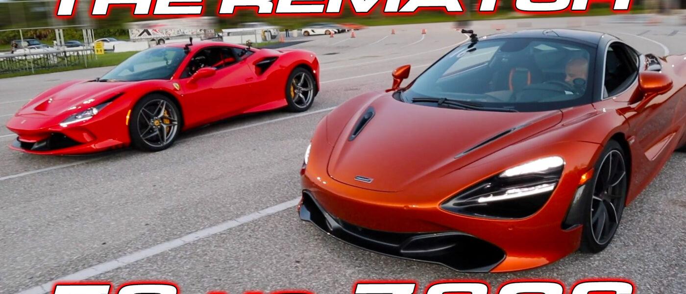 The REMATCH – Ferrari F8 vs McLaren 720S