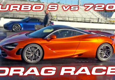 McLaren 720s vs Porsche 992 Turbo S at the Drag Strip