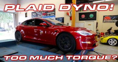 Tesla Model S on the Dyno