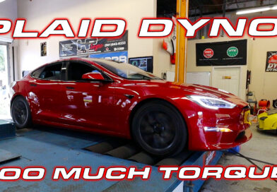 DragTimes Dyno Tests the new Tesla Model S Plaid