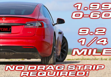 DragTimes his 0-60 MPH in just 1.99 Seconds in the Tesla Model S Plaid